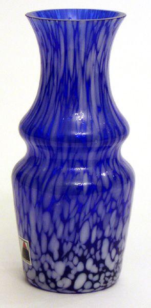 Váza modrobílá